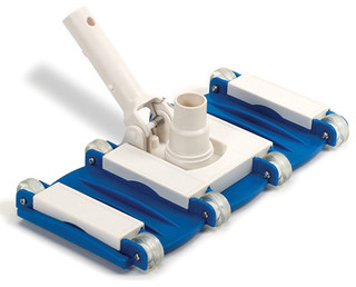 Blue wave flexible concrete vacuum head traditional - Swimming pool cleaning chemicals list ...