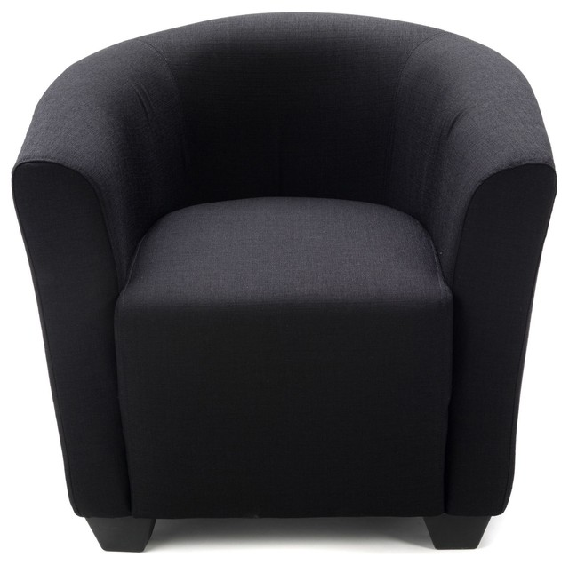 ines fauteuil cabriolet noir contemporain fauteuil par alin a mobilier d co. Black Bedroom Furniture Sets. Home Design Ideas