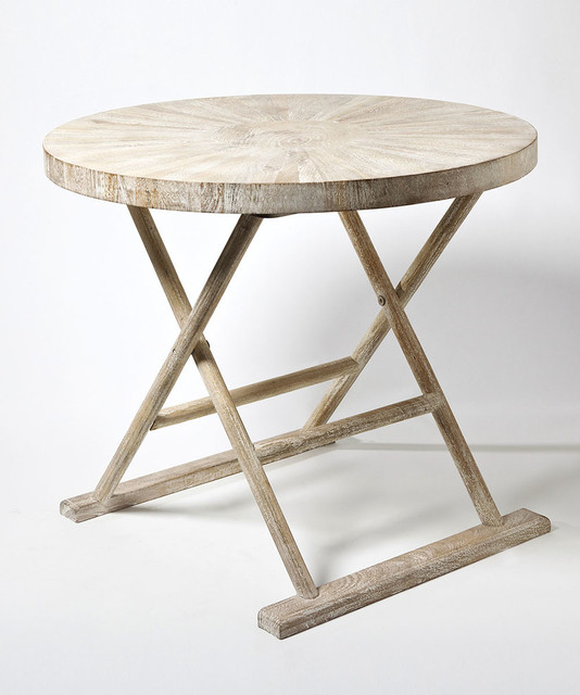 Driftwood End Table: Driftwood Loft Table Transitional-side-tables-and-end-tables
