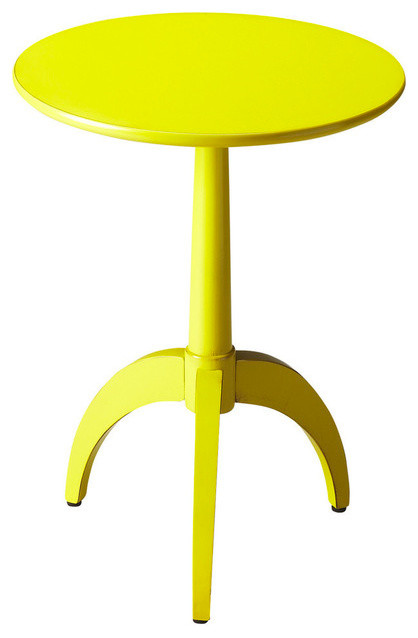 butler accent table yellow modern side tables and end tables by shopfreely