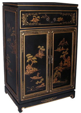 Asian Shoe Cabinets & Hall Chests - Asian - new york - by Oriental ...