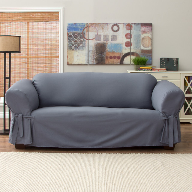 Tailor Fit Relaxed Fit Cotton Duck Sofa Slipcover