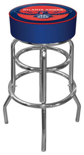 NBA Padded Swivel Bar Stool Atlanta Hawks Contemporary  : contemporary bar stools and counter stools from www.houzz.com.au size 346 x 640 jpeg 46kB