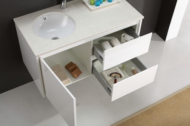 Original Door Vanity Cabinet With Self Rimming Sink LA1C
