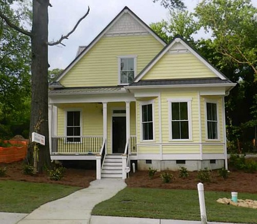 Image Result For Painted Brick Homes Pictures