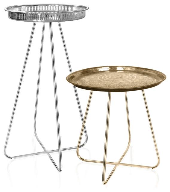 New Casablanca Table (Brass Legs)