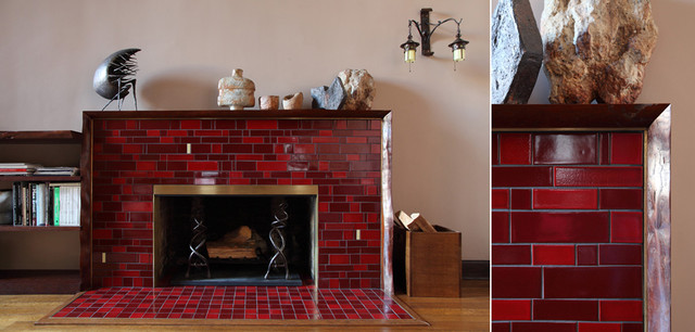 Tiles for fireplace surround ceramic