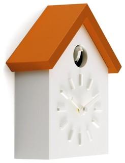 cu clock kuckucksuhr bauhaus look kuckucksuhren von. Black Bedroom Furniture Sets. Home Design Ideas