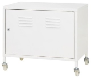 Ikea ps cabinet on casters contemporary accent chests for Ikea accent cabinet