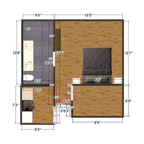 master bedroom layout help
