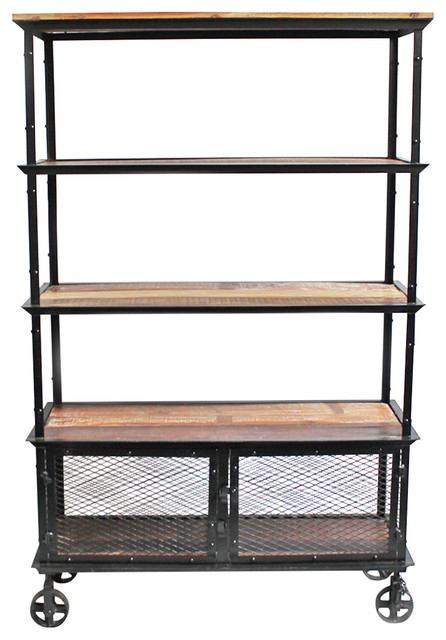 Coastal decor bathroom - Industrial Bookcase Industrial Bookcases By Design Mix Furniture