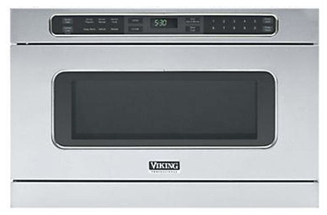 Viking vmod241 24 inch wide 1 0 cu ft built in microwave for Built in microwave oven 24 inch