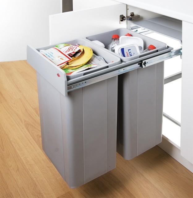 Kitchen Cabinet Recycle Bins - Kitchen Appliances Tips And Review