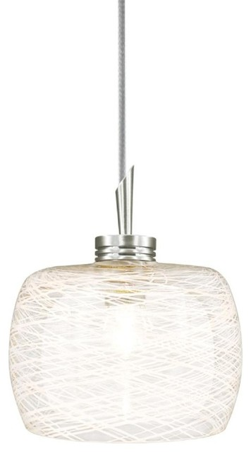 Jesco Quick Adapt Low Voltage Pendant QAP115 WHFR CH Transitional Pendant