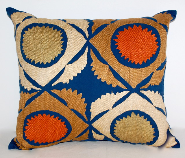 Eclectic Decorative Pillows : pillows - Eclectic - Decorative Pillows - los angeles - by Hot Moon Collection