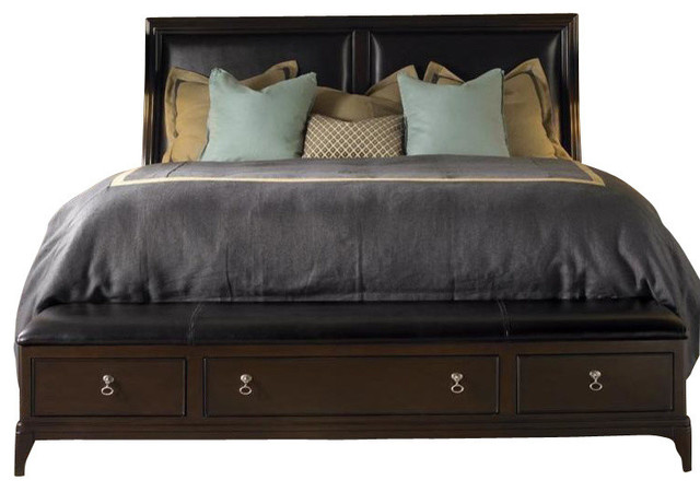 Kincaid Alston Solid Wood Queen Low Profile Bed With