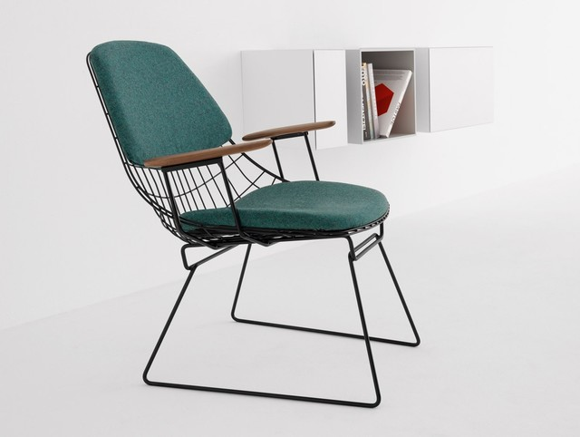 Fm06 Wire Lounge Chair Contemporary Armchairs Amp Accent