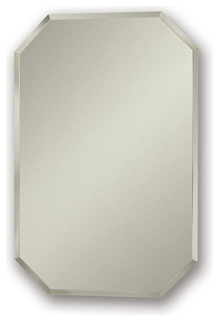 "Mirage 18""x27"" Recess Mount Medicine Cabinet - Contemporary - Medicine Cabinets - by Luxury Bath ..."