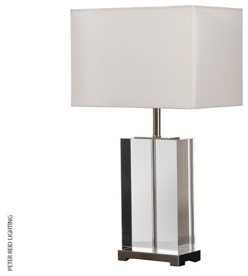 Valentina Clear Crystal Table Light Modern Table Lamps South East By