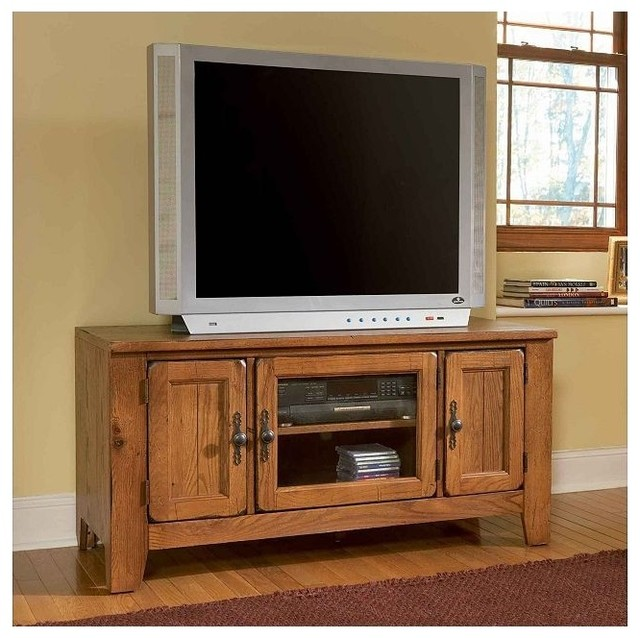 Broyhill Attic Heirlooms 60 Quot Tv Console In Natural Oak