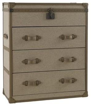 commode coffre 3 tiroirs colonie contemporain commode. Black Bedroom Furniture Sets. Home Design Ideas