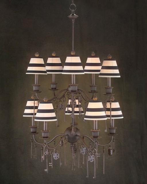 john richard 10 light chandelier ajc 8535 contemporary. Black Bedroom Furniture Sets. Home Design Ideas