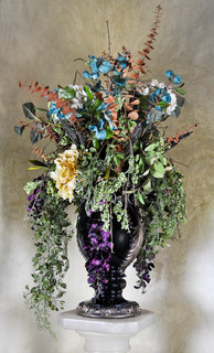 Cascading Greco Roman Arrangement Artificial Flower