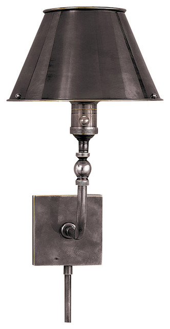 Wall Sconce Task Light : Visual Comfort Lighting Studio Swivel 1 Light Task Wall Light - Traditional - Wall Sconces - by ...