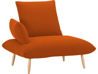 naoko fauteuil en tissu bauhaus look sessel von. Black Bedroom Furniture Sets. Home Design Ideas