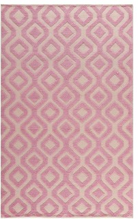 Contemporary Martha Stewart 8'x10' Rectangle Ivory-Pink Area Rug - Contemporary - Area Rugs - by ...