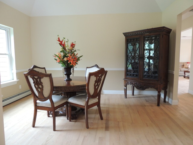 home woodland estates goshen ny transitional dining room new