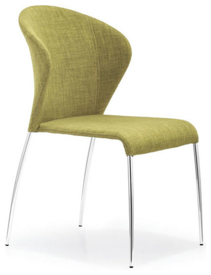 Oulu Pea Fabric Dining Chair Contemporary Dining Chairs New York By T