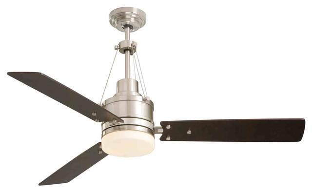 Emerson Fans Highpointe Brushed Steel Ceiling Fan