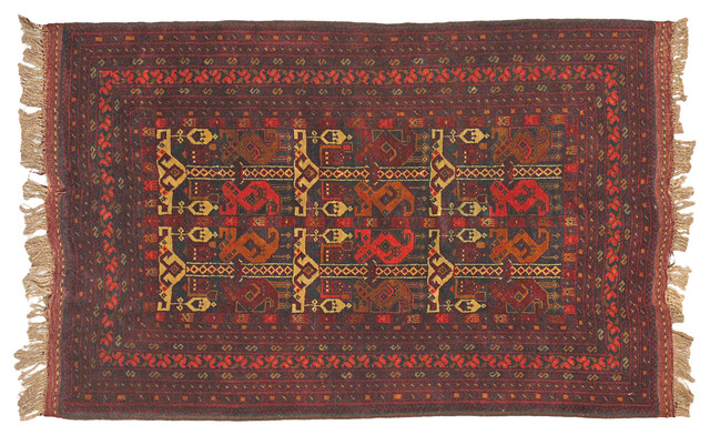 Handmade woven rug mediterranean rugs new york by for Decor international handwoven rugs