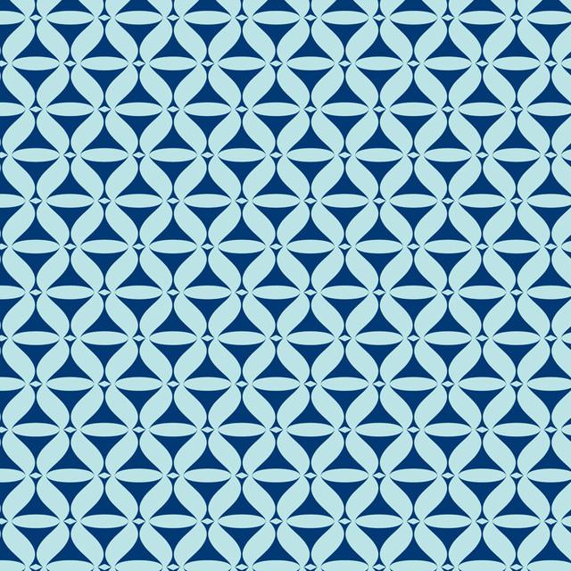 Martini blue wall mural contemporain papier peint - Papier peint ontwerp contemporain ...