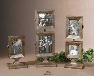 19286 Kimie Photo Frames S 3 By Uttermost Modern Home Accessories