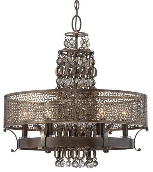 Rustic industrial lighting rustic chandeliers for Houzz rustic lighting