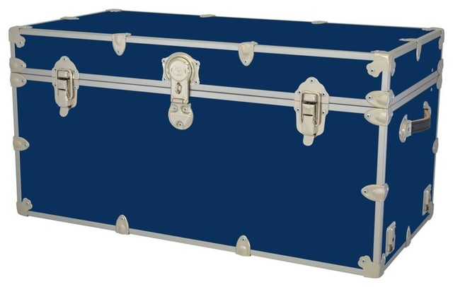 Storage Trunk Chest In Royal   Contemporary   Kids Storage Benches .