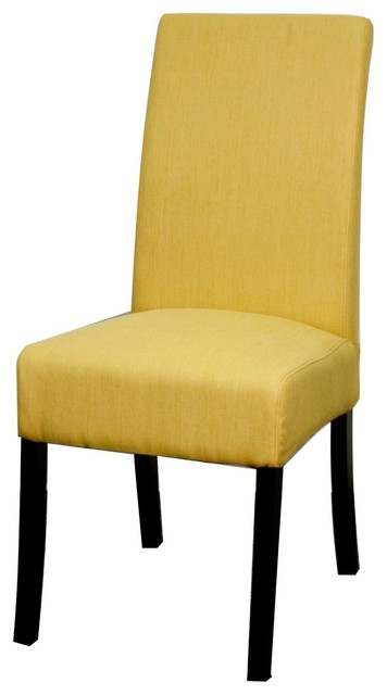 Valencia Fabric Chair Pear Set Of 2 Contemporary Dining Chairs By Soh