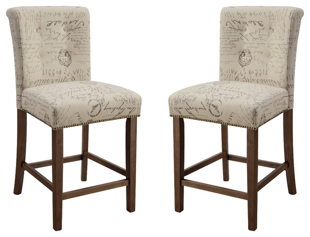 Upholstered parson counter height dining chairs script for Upholstered parson dining chairs
