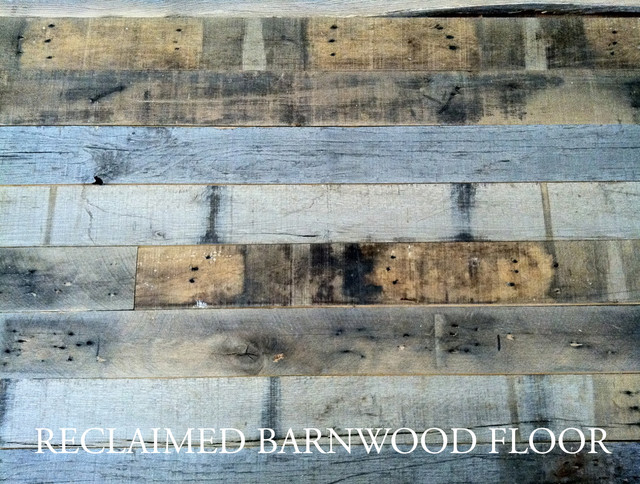 Reclaimed oak barn wood traditional hardwood flooring for Reclaimed wood flooring los angeles