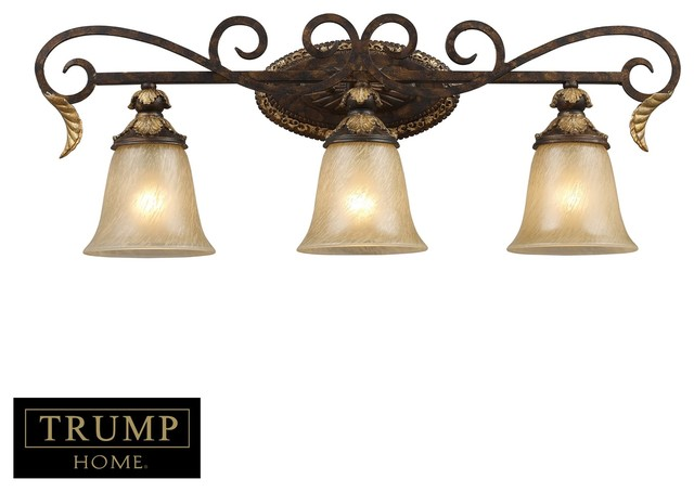 Elk lighting regency traditional bathroom vanity light x for Traditional bathroom vanity lights