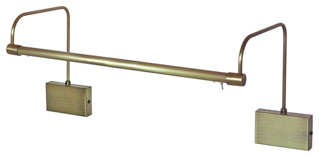 "30"" Tru-Slim Hardwire LED Art Light Antique Brass"