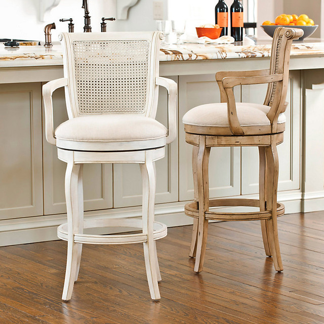 Julien barstool traditional bar stools and counter - Traditional kitchen bar stools ...