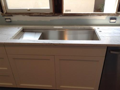 Kitchen sink too big - Kitchen sink saying ...