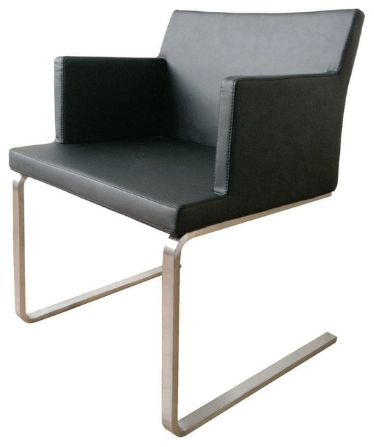 Soho flat armchair contemporary dining chairs for Modern dining chairs vancouver