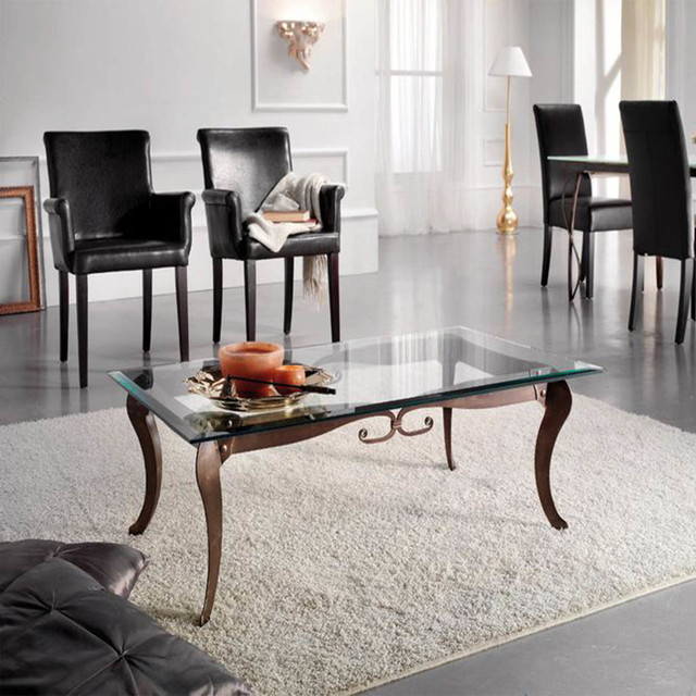 'Deco' Classic Wrought Iron Coffee Table By Target Point