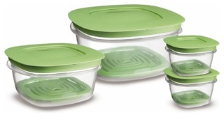Rubbermaid 7J93 Produce Saver Square Food Storage Containers - Contemporary - Food Storage ...