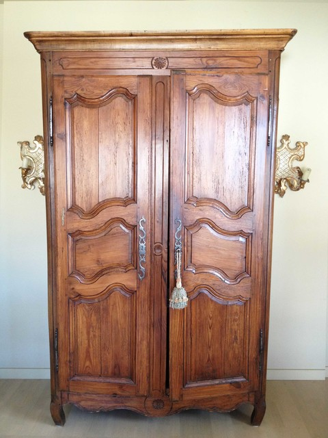 antique 19th century louis 15th style french armoire. Black Bedroom Furniture Sets. Home Design Ideas