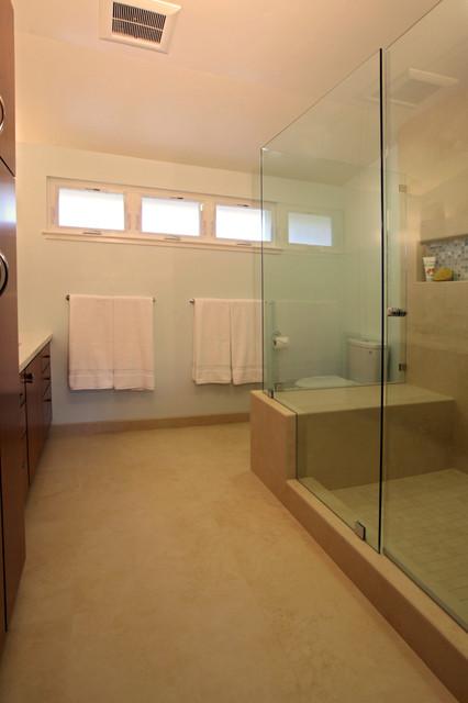 Serene contemporary bath for Serene bathroom ideas